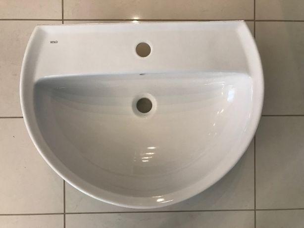 Koło Solo Umywalka 53X45 cm półokrągła biała