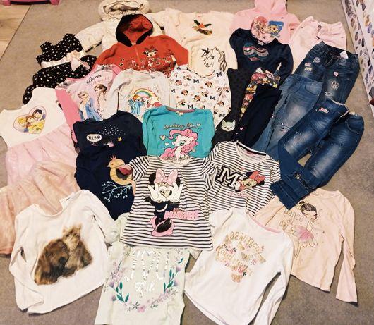 Mega zestaw dla dziewczynki 110/116 Minnie , h&m, Disney, cool club