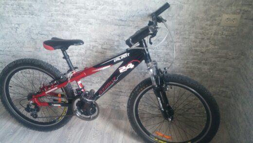 Велосипед алюминиевый Azimut Valiant 24