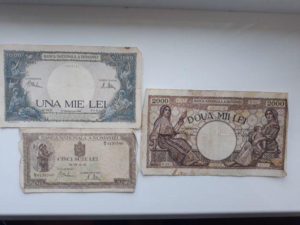 Румынские леи 1941 банкноты, romaniei lei 1941, купюры Румыния
