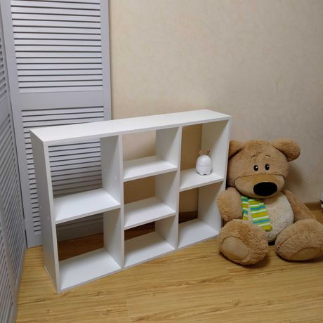 Новый детский стеллаж, полка для игрушек, этажерка в детскую