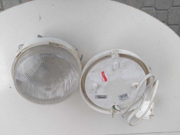 Lampa, oswietlenie po demontażu.