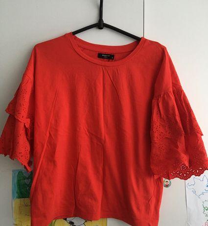 Bluzka czerwona Reserved