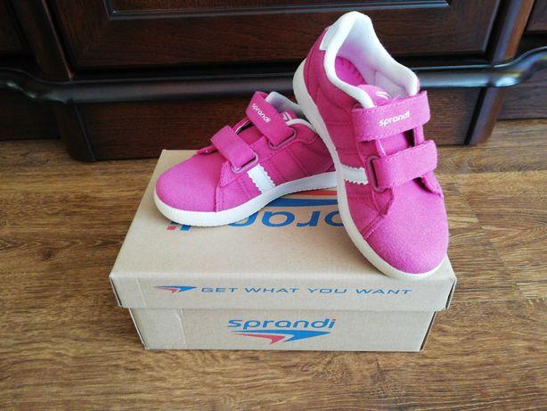 Sprzedam buciki sportowe Sprandi dla dziewczynki 26 rozmiar