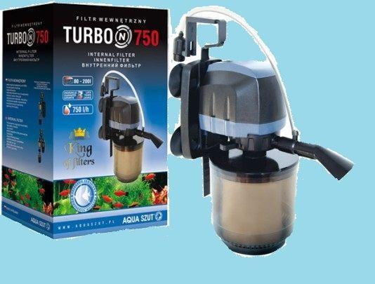 Filtr wewnętrzny Turbo 750l/h 5,5W Aqua Szut gwarancja