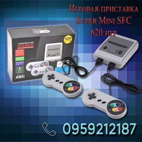 АКЦИЯ! Игровая приставка Super Mini SFC 620 игр SEGA Dendi 2 джойстика