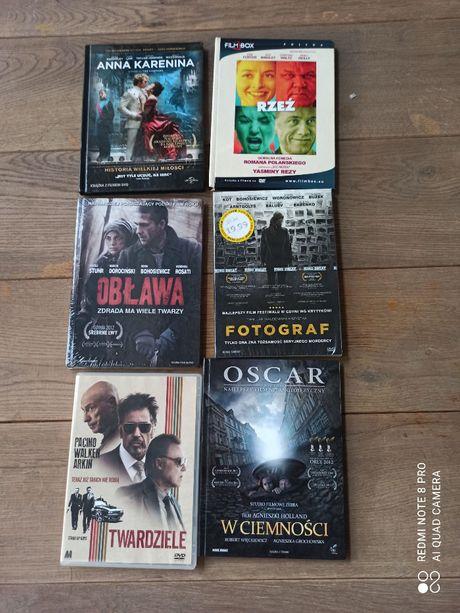 Zestaw filmów DVD Gra o Tron i inne