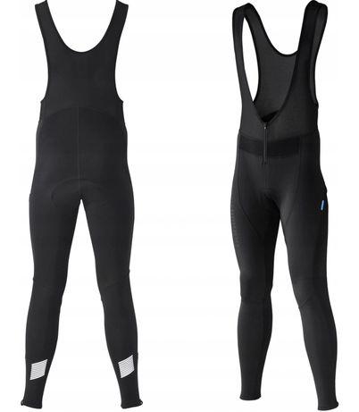 Shimano Performance WINDBRAKE rajtuzy spodnie zimowe bib long