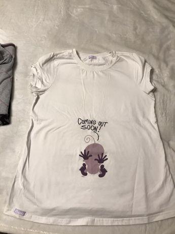 Koszulka dla przyszlej mamy.