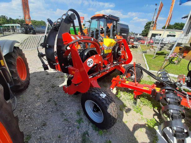Wał uprawowy AGRO-FACTORY 4,5m FI500 włóka, listwa NOWY Gwarancja