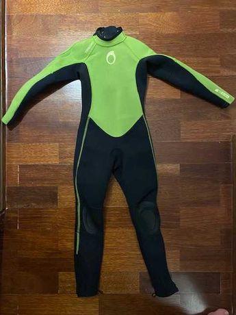 Fato de surf criança, tamanho 6 anos