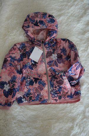 NOWA kurtka w kwiatki C&A dla dziewczynki