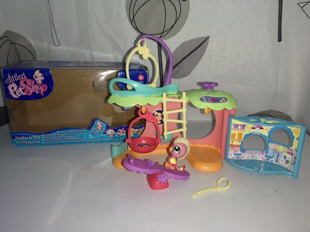 Littlest Pet Shop Plac zabaw z opakowaniem