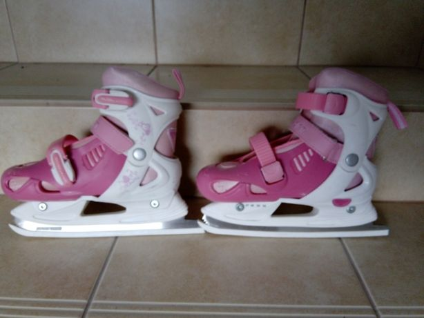 łyżwy dla dziewczynki regulowane