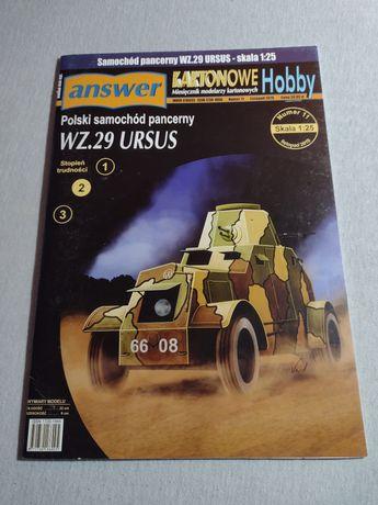 Model kartonowy Answer WZ 29 Ursus