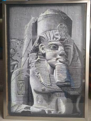 Картина папирус люминесцентная