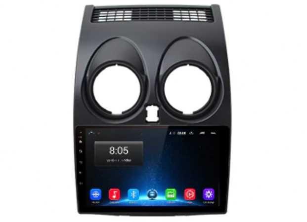 Rádio Nissan Qashqai - Android 10  – 2 DIN GPS WIFI - Novo Garantia
