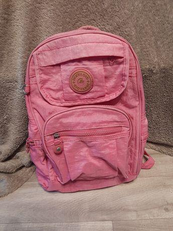 Plecak dla dziewczynki na wycieczki różowy