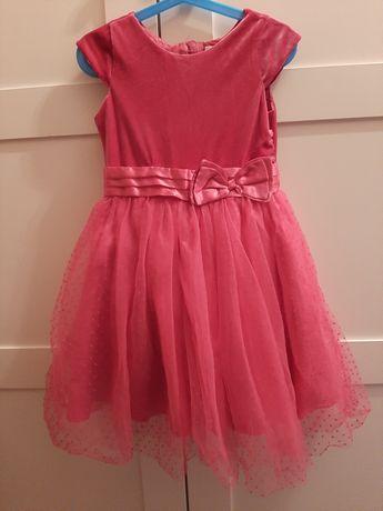 Sukienka na 110 cm smyk cool club 4 5 lat różowa tiul