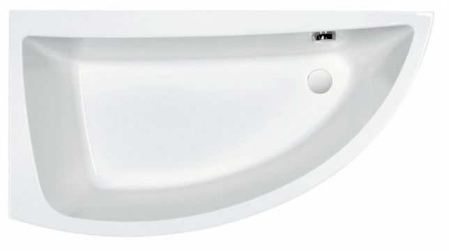 Ванна акриловая CERSANIT NANO 140 левосторонняя + ножки+панель!