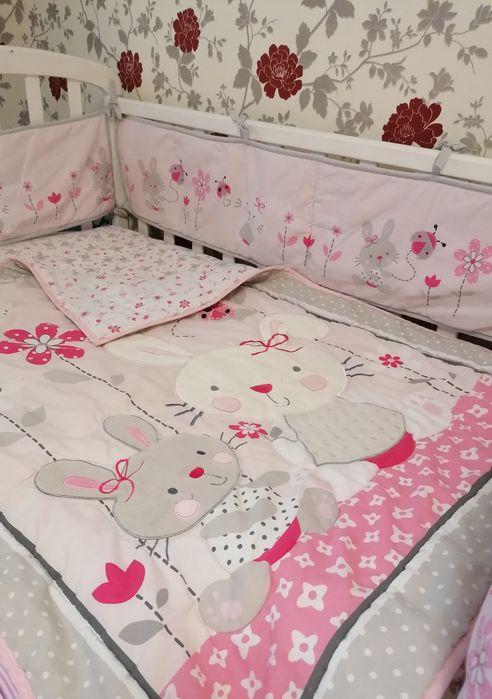 Постельное белье,бортики в кроватку,одеяло покрывало.Кроватка детская Киев - изображение 1