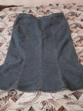 Фирменная джинсовая юбка. Состояние новой!