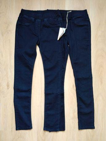 2x spodnie, jegginsy dziewczęce 152