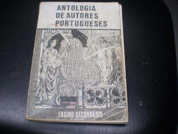 Livro Antologia de Autores Portugueses