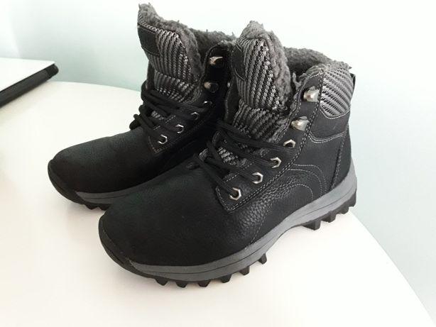 Buty zimowe chłopięce stan bdb rozmiar 33
