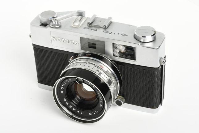 Konica Auto S2 com lente 1.8 de 45mm
