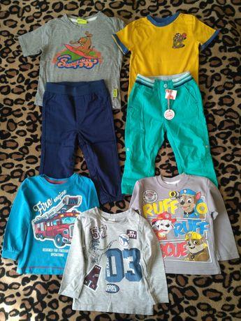 Zestaw ubrań dla chłopca - rozmiar 92