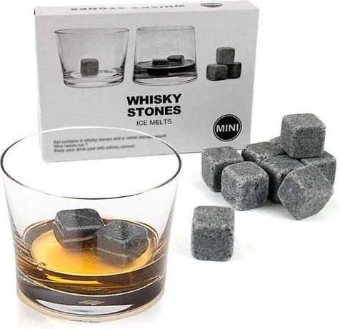 Камни для охлаждения виски и напитков Whisky Stones 9 шт