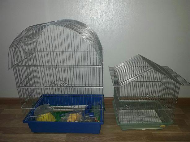 Клетки для попугаев в идеальном состоянии