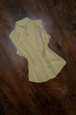 Блузка рубашка шведка marks & spencer 158-164р. короткий рукав