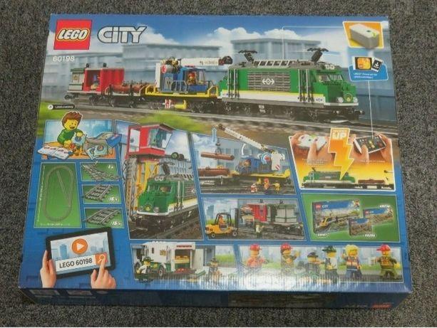 LEGO CITY 60198 Pociąg towarowy NOWY i ORYGINALNY!!!