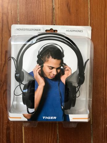 NOVO Headphones Auscultadores TIGER