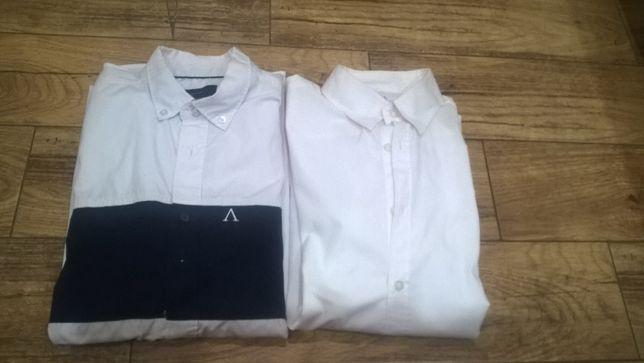 Koszula męska biała rozmiar M- 2 sztuki Reserved, New Yorker