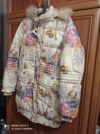 Курточка зима тёплая