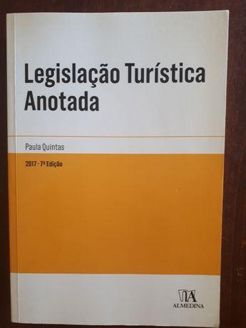 Legislação turística anotada c/portes incluídos