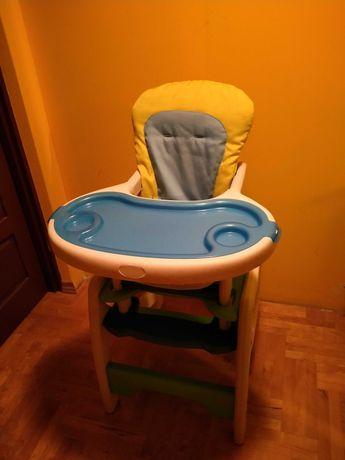 Fotelik do karmienia, krzesełko i stolik 3w1