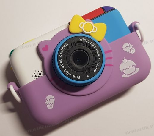 Детский фотоаппарат с 2 камерами Mickey Mouse новинка 2020