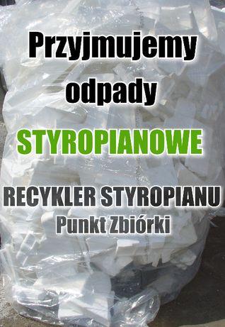 Odpady styropianu odbiór odpadów styropianowych wywóz EPS recykling