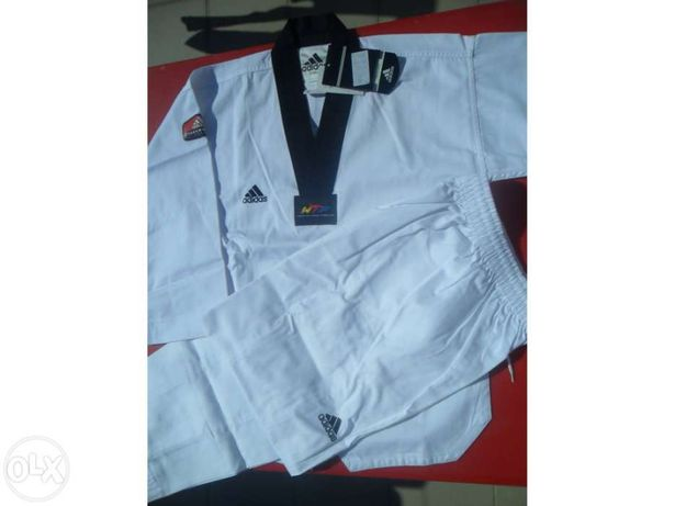Fato de taekwondo adidas 140cm