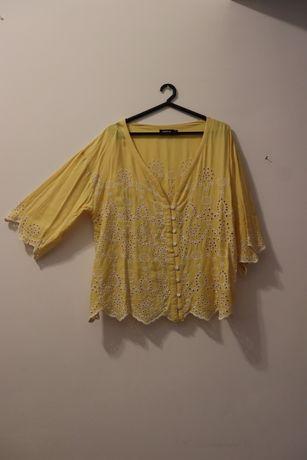 Blusa Natura amarela Tamanho XL