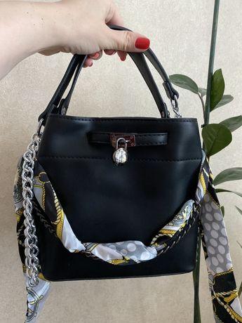 Сумка сумочка на цепочке, стильная малышка + подарок