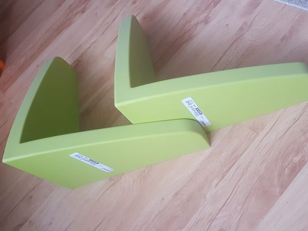 2x półka MAMMUT IKEA zielona nowe!
