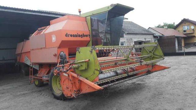Kombajn Dronningborg D1650 z sieczkarnią