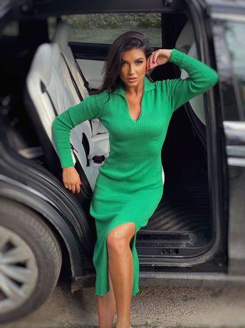 Платье трикотаж , кофта