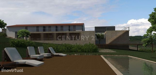 Quinta em Marvão, com área total 61900 m2, com requintado Solar, Terra