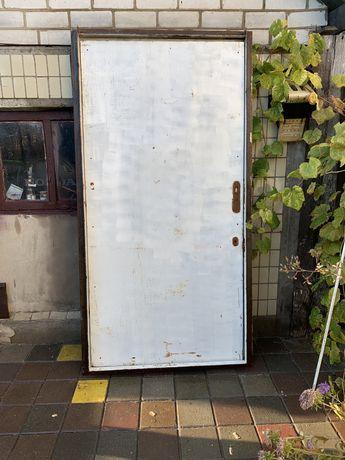 Двері металеві 1000*2000мм
